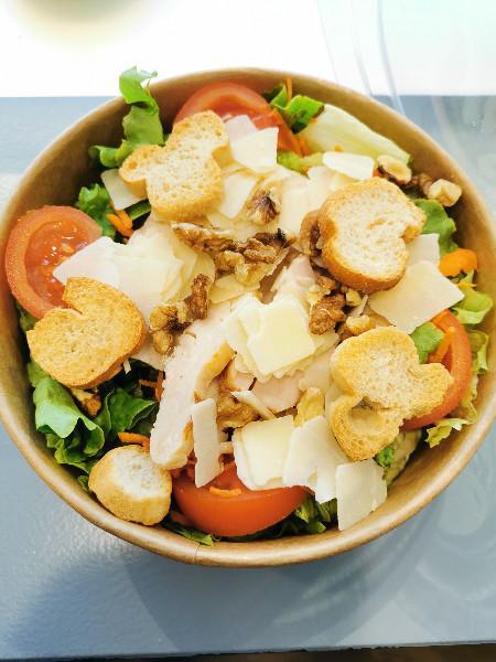 nos choix de salades sandwiches et dessert
